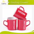 cerámica roja taza Nescafé