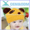 2014 venta caliente 100% personalizados de acrílico bebé ganchillo sombrero
