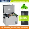 Camping nevera/congelador solar fabricación nevera-congelador