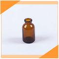 frasco de cristal ámbar de 20ml para farmacéuticos