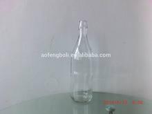 970ml jugo de botellas de vidrio vacías