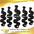 Comprar cabelo humano barato a partir de alibaba china fornecedor novos produtos 2014 cabelo indiano natural bruto