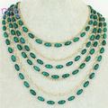 turquoise mutilayer necklace