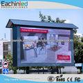 pantalla fija de instalación de aluminio ligero de publicidad exterior LED