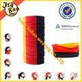 personalizado 3 color falso ácoro headwear para world cup