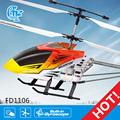 Fd1106 meilleure télécommande hélicoptère 3.5ch ultralight hélicoptères pour la vente