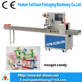 Automatic nougat with nut packaging machinery & nougat candy Packing Machines in factory price