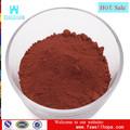 Polvo de pigmento de color rojo marrón materiales