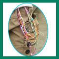 multifunción de conectar de silicona pulsera de bolas de los pies o banda collar o méxico parainvitados