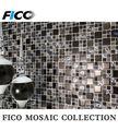 48gpl06 nueva llegada de mosaico de cristal de diseño de arte