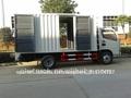 el mejor precio de dongfeng 3 tonelada de carga de camiones cuerpo de la caja