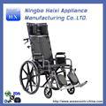 nível superior recém design cadeira de rodas manual assento e costas recling