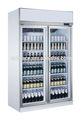 enfriador de bebidas de vidrio de la puerta del refrigerador