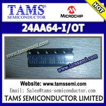 (MICROCHIP 64K I2C™ Serial EEPROM) 24AA64-I/OT