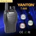T-666 vhf/uhf radios portátiles de alta calidad