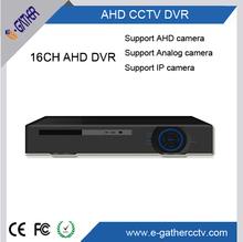 Ipc/analógica/ahd híbrido de la cámara del cctvindependiente dvr h 720p. 264 16ch ahd dvr