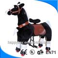 oi crianças ce cavalo de madeira com rodas mechinal cavalo de brinquedo