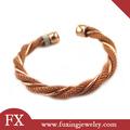 regalo para niños y niñas de acero inoxidable de brazaletes de oro los últimos diseños