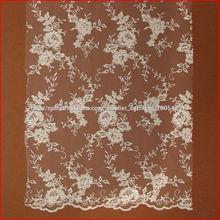 La tela de encaje más popular para la ropa