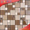 TC15 Padrões de vidro bonito telhas mosaico para decoração de parede em casa