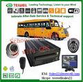 rohs de la fcc 4 ch d1 grabación dvr vehículo para auto descargar a través de la cms de software gps de seguimiento de