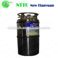 195l en posición vertical capacidad de oxígeno líquido criogénico dpl del cilindro
