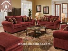 Lk- ha17# sofá conjunto muebles de colores brillantes