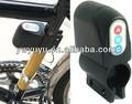 La vibración activado 110db bicicletas anti- robo de alarma de seguridad con teclado contraseña