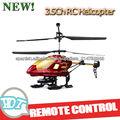 3.5ch grandes de radio control helicóptero con el girocompás