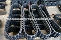 Faixa de borracha para hidráulica escavadora mini, máquinas de borracha faixa