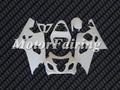 carenados de fibra de vidrio de la motocicleta kit de carrocería para gsxr600/750 2004-2005