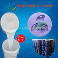 Resinas( epóxi, acrílico, poliéster) moldagem tornando borracha de silicone líquido