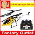 mini 3 ch rc helicóptero con el girocompás y la luz de radio control helicóptero de juguete de control remoto