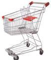 estilo de Asia supermercado carro de la compra