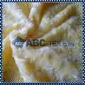China de fornecimento de malha Plush Tecido