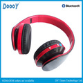 inalámbrico d480 mp3 nuevo modelo bluetooth auriculares personalizados