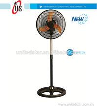 Ventilador de pedestal, estudiante del ventilador pulgadas 10 12 standind pulgadas del ventilador con buen flujo de aire