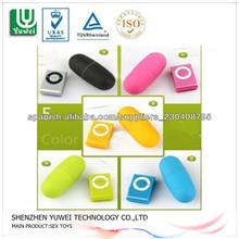 Mini Mp3 Diseño Diseño de Fashional Vibrador juguete damas sexo con control inalámbrico