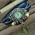 Caliente la parte superior de la marca pem la bienvenida genuina retro de cuero dama reloj( yx- lw01)