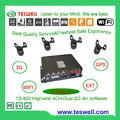 Intimate Post-venta-servicio y soporte técnico! TS-820 4CH D1 en tiempo real 3g wifi móvil DVR