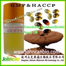 Ganoderma lucidum (Reishi) cápsula de aceite de esporas