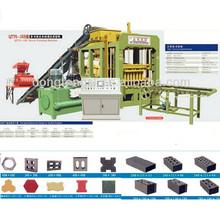 Qty6-15 full auto ladrillo precio de la máquina con desgin mezclador del molde y el transportador