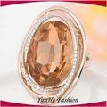 el último de la moda de diseño simple las mujeres opal anillos de los dedos