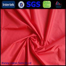 De alta densidad recubierto de nylon a prueba de agua tela/tafetán de nylon