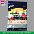 frozen saco de sacos de plástico para alimentos congelados