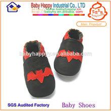 baratos al por mayor de cuero genuino del bebé zapatos