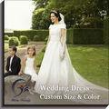 Satén Tul Vestidos de novia para mujeres maduras
