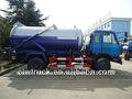 dongfeng 145 4x2 de vacío del tanque de aguas residuales de camiones