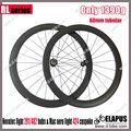 2013 Elapus vendido 60mm tubular de la rueda del camino del carbón