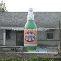 Enorme inflável garrafa de cerveja, balão de publicidade para venda